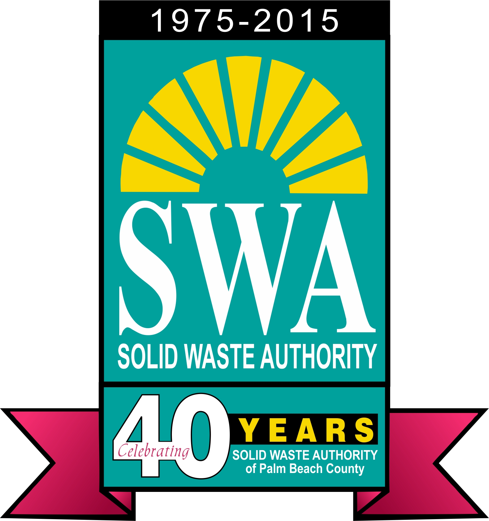 SWA 40th Annual Logo - with red
