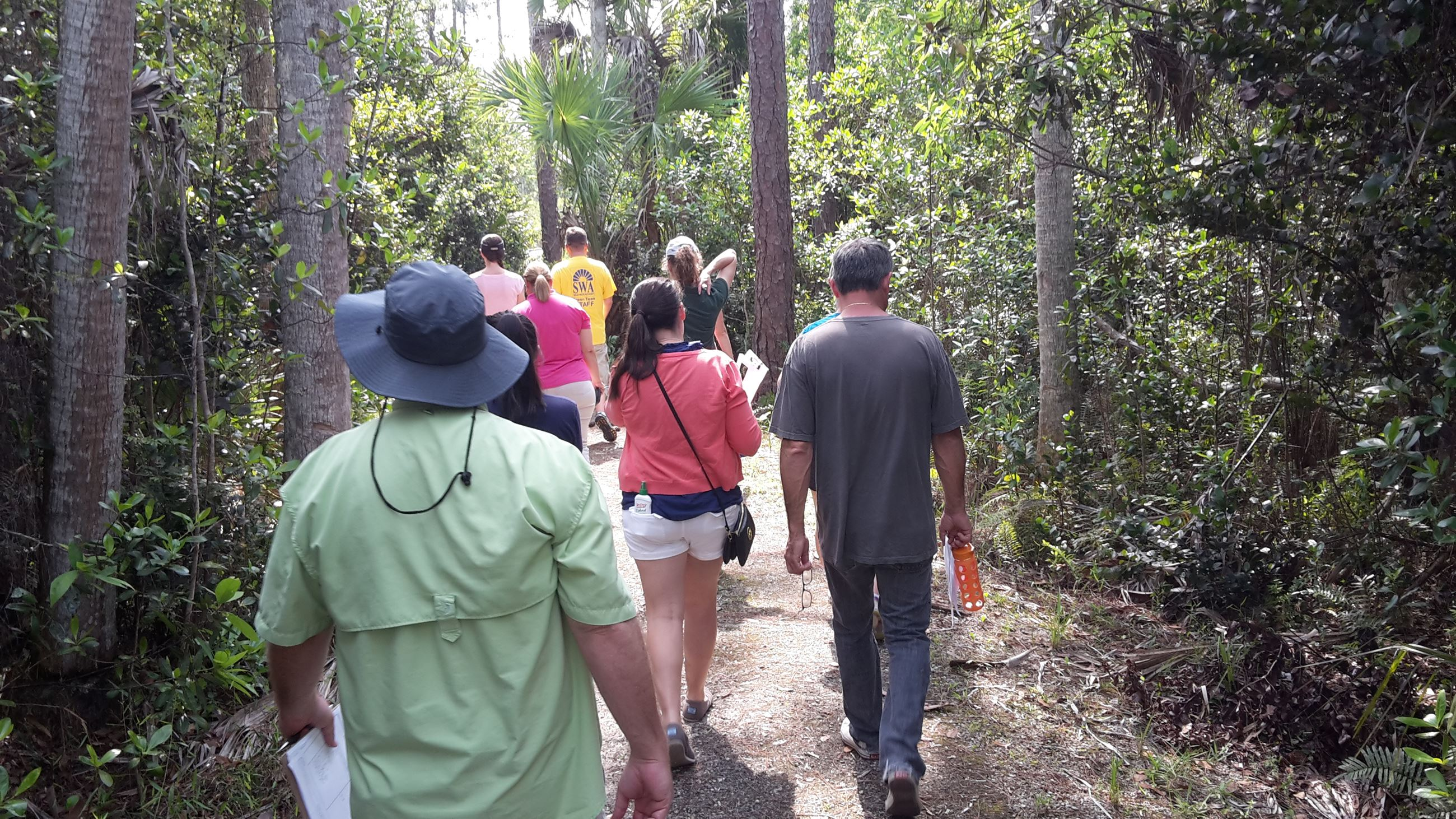 Nature Trail Group walking
