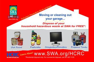 SWA Home Chemical and Recycling Center October Campaign