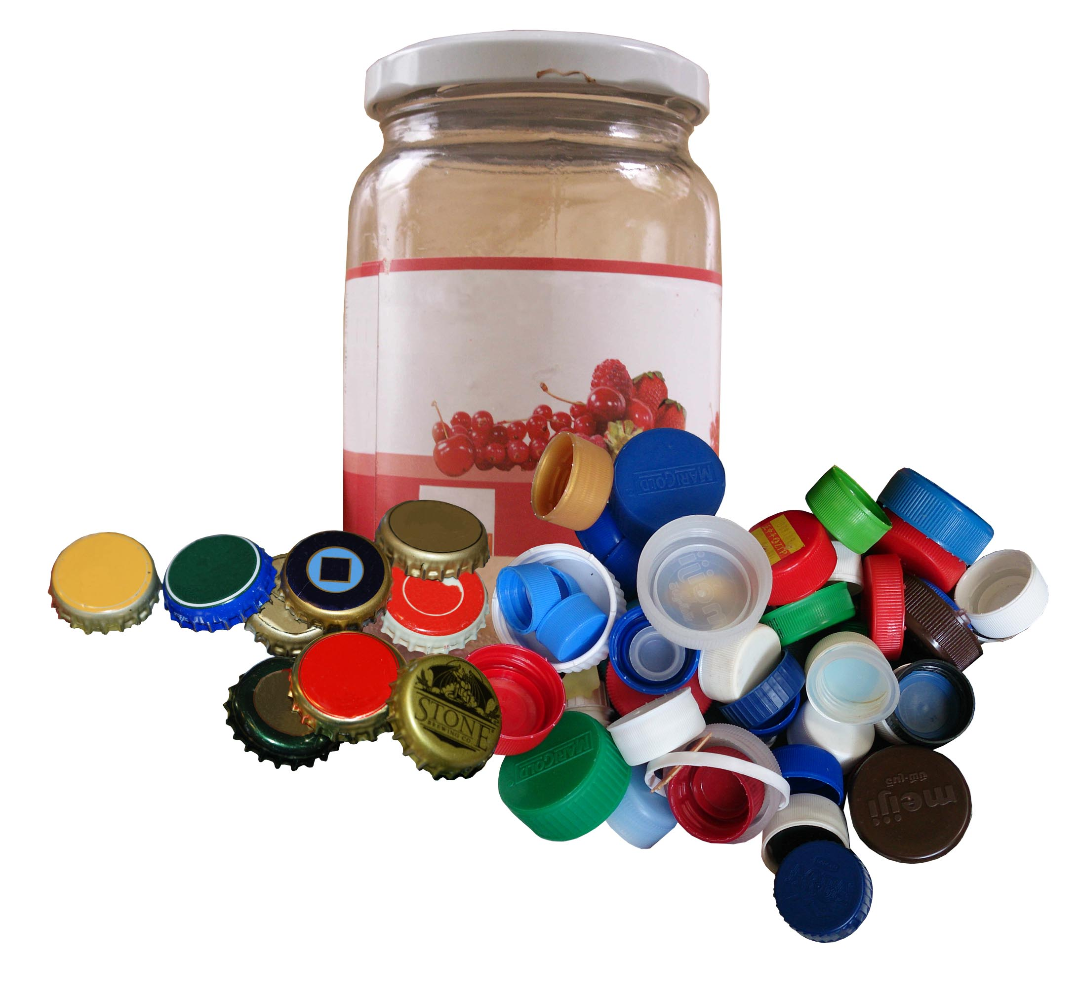 Bottle Caps and Jar Lids