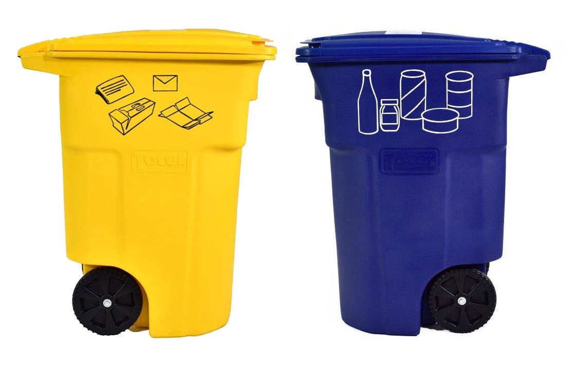 Multi-Family Recycling Bins