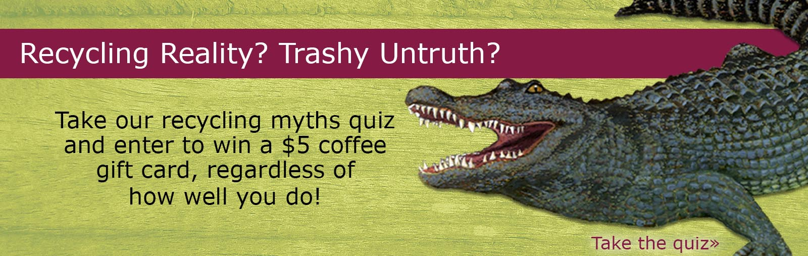 Recycling Myths Quiz