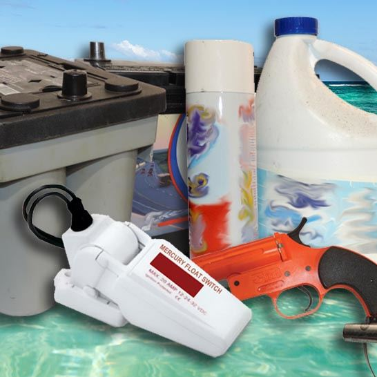 Marine Hazards - Boating Waste