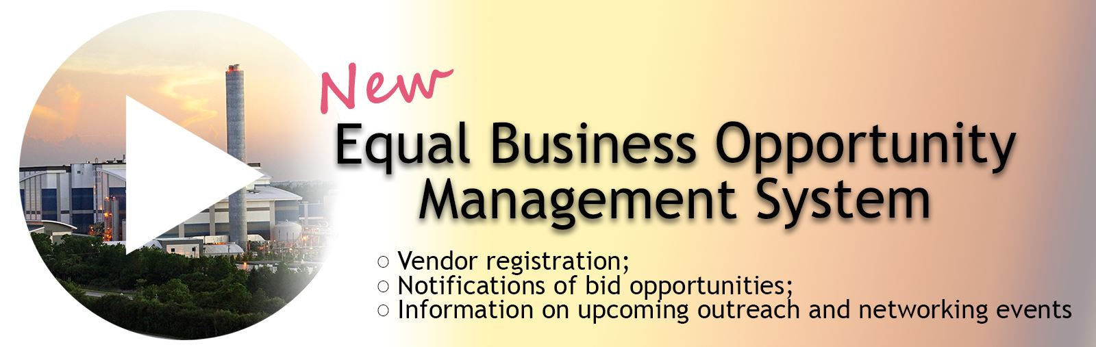 Equal Business Opportunity Management System