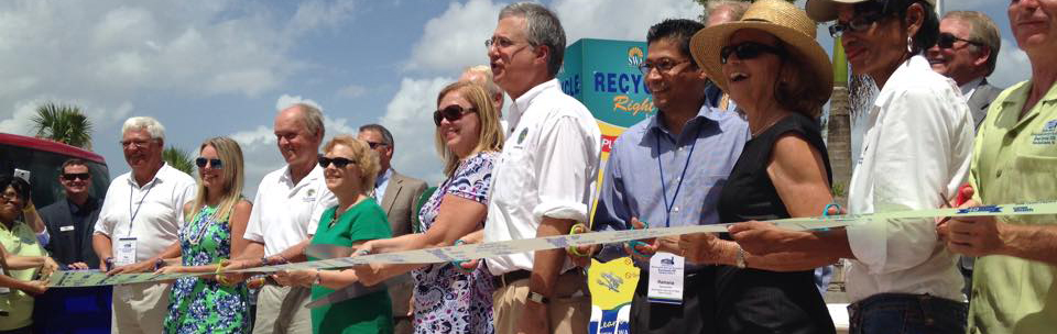 Palm Beach Renewable Energy Facility 2 Ribbon Cutting - June 27, 2015