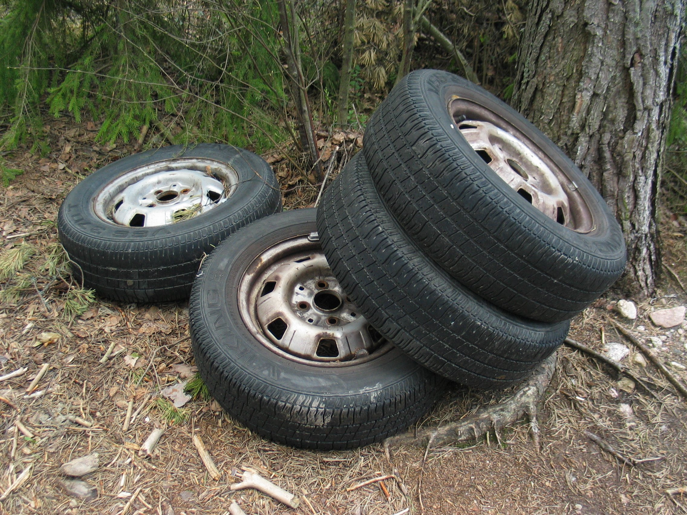Tires on the Ground